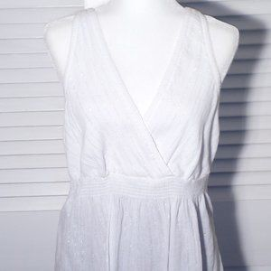 NWOT Faded Glory Cotton Top/ Cover Up